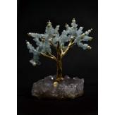 Δέντρο Ζωής - Ακουαμαρίνα με Αμέθυστο